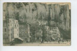 Piece Sur Le Theme De Le Treport - Les Falaises Et Les Villas De La Plage - Le Treport