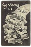 Tournai. Souvenir De Tournai. Multivues.**** - Doornik