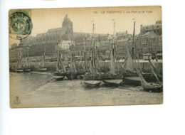 Piece Sur Le Theme De Le Treport - Le Port Et La Ville - Le Treport