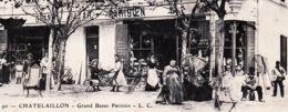 X17060 CHATELAILLON Charente Maritime Grand Bazar Parisien L.C N°90 à LECLERC Droué Loir Cher - Châtelaillon-Plage