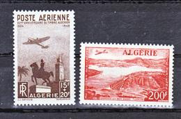 Algérie PA 13/14 Paysages Vus D'avion Neuf ** TB Mnh Sin Charnela Cote 15.8 - Airmail