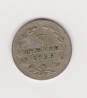 3 Kreuzer D'argent Du Grand Duc Léopold De Bade, 1835 - [ 1] …-1871 : Etats Allemands