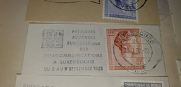 Europe TELECOMMUNICATIONS In Luxemburg Luxembourg 1962 Cancel Cancellation - Telecom