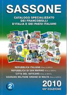 Catalogue SASSONE  2010 Tome 2 - Timbres D'Italie ( En Italien ) - Italien