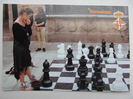 Barcelona, Spain Outdoor Chess - Barcelona