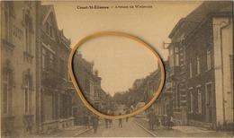 Court St Etienne :  Avenue De Wisterzée ( Carte DESAIX ) - Court-Saint-Etienne