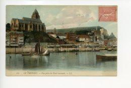 Piece Sur Le Theme De Le Treport - Vue Prise Du Pont Tournant - Editions Ll - Le Treport