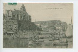 Piece Sur Le Theme De L Eglise Et Le Port - Treport - Le Treport
