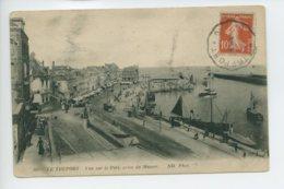Piece Sur Le Theme De Le Treport - Le Port - Prise Du Musoir - Le Treport