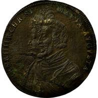 France, Jeton, Nuremberg, Henri IV & Marie De Médicis, TB+, Laiton - France