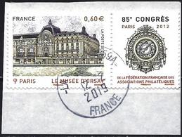 France 2012 - Orsay Museum ( Mi 5418 - YT 4678 ) + Label - France