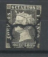 ESPAÑA  EDIFIL 1 - 1850-68 Kingdom: Isabella II