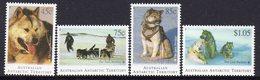 AAT, 1994 HUSKIES 4 MNH - Unused Stamps
