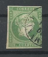ESPAÑA  EDIFIL  47  (FIRMADO SR. CAJAL, MIEMBRO DE IFSDA) - 1850-68 Kingdom: Isabella II