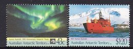 AAT, 1991 ANTARCTIC TREATY 2 MNH - Unused Stamps