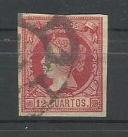 ESPAÑA  EDIFIL  53  (FIRMADO SR. CAJAL, MIEMBRO DE IFSDA) - 1850-68 Kingdom: Isabella II