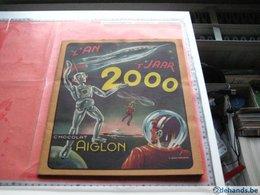 Science Fiction 1 Full Complete Set  Year 2000, Chocolat, In Original Album C1950, Illustator Goetgeluck FUTURE - Aiglon