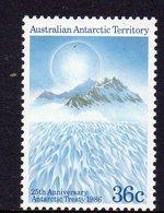 AAT, 1986 ANTATRCTIC TREATY 1 MNH - Australian Antarctic Territory (AAT)