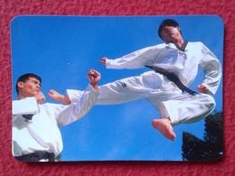 SPAIN CALENDARIO DE BOLSILLO OLD CALENDAR 1996 ESPAGNE ARTES MARCIALES JUDO KARATE TAEKWONDO MARTIAL ARTS JAPAN CHINA... - Calendarios