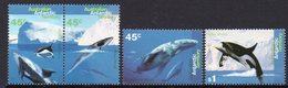 AAT, 1995 WHALES/DOLPHINS 4 MNH - Unused Stamps