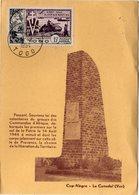TOGO MAXIMUM DU PA 22 10e ANNIVERSAIRE DE LA LIBERATION OBLITERATION LOME 14-8-1954 World War II - Seconda Guerra Mondiale