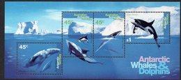 AAT, 1995 WHALES/DOLPHINS MINISHEET MNH - Australian Antarctic Territory (AAT)