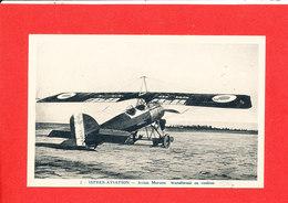 Istres Aviation Cpa Glacée Avion  Morane Transformé En Rouleur    2  Coll Tranchant - 1946-....: Ere Moderne