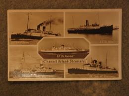 BRITISH RAIL CHANNEL ISLAND STEAMERS RP - Ferries