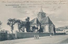 CPA - Belgique - Flandre Occidentale - Blankenberge - Blankenberghe - Ancienne Eglise - Blankenberge
