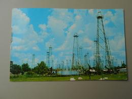 ETATS UNIS TX TEXAS A TEXAS OIL FIELD TEXAS PRODUCES 2/5 OF THE NATION'S OIL SUPPLY  FIRST OIL WAS DICOVERED TEXAS 1865 - Etats-Unis