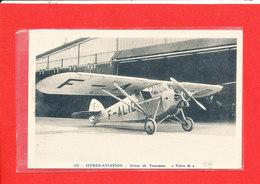 Istres Aviation Cpa Glacée Avion De Tourisme Potez 36     379  Coll Tranchant - 1946-....: Ere Moderne