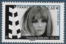 FRANCE 4690 Françoise Dorléac (2012) Neuf** - Acteurs