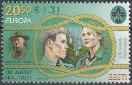 Eesti 2007 Michel 585 Neuf ** Cote (2015) 3.50 Euro Europa CEPT Scoutisme - Estonie