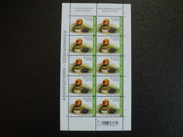België Belgium 2018 - André Buzin Vogels Krooneend / Birds Red-crested Pochard (Netta Rufina/ Nette Rousse) - Neufs
