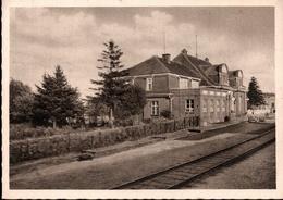 ! Alte Ansichtskarte Bahnhof Tuchel, Dworzec Tuchola, Westpreußen, Marienwerder, Polen, Poland, Pologne, - Polen