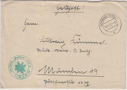 DR - Feldpost Gebirgsjäger Skihütte Gröben 4./GJR 98 Brief Berwang (Tirol) 1943 - Deutschland