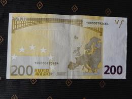 200 Euro Y - R003 C2,  GREECE, DUISENBERG  Circul.,  Y00000793684 - EURO