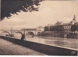 CHALON-sur-SAONE. Pont St-Laurent. L'Hôpital - Chalon Sur Saone