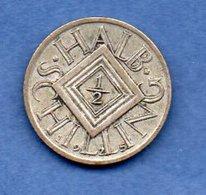Autriche  - 1/2 Schilling 1925  --  état  TTB - Autriche