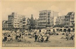 CPA - Belgique - Blankenberge - Blankenberghe - La Plage Et La Digue - Blankenberge