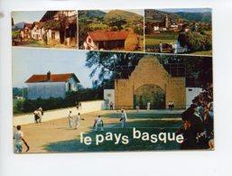 Piece Sur Le Theme De Multivues - La Cote Basque - Le Pays Basque - Oblit En 1972 - France