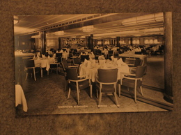 SHAW SAVILL DOMINION MONARCH DINING SALOON - OFFICIAL, RP - Steamers