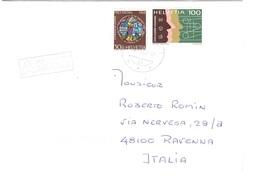 LETTERA X ITALY UNION POSTALE UNIVERSELLE - Storia Postale