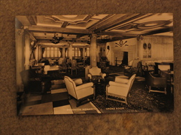 SHAW SAVILL DOMINION MONARCH SMOKE ROOM - OFFICIAL, RP - Steamers