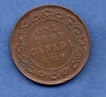 Canada  - 1 Cent 1919  -  état  TB+ - Canada