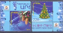 2018. Mountainous Karabakh, New Year, 2v, Mint/** - Armenia