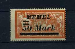 MEMEL 1922 Nr 97 Haftstelle/Falz (110193) - Memelgebiet