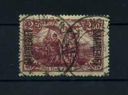 SAARGEBIET 1920 Nr 43 Gestempelt (110200) - Deutschland