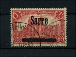 SAARGEBIET 1920 Nr 17 Gestempelt (110207) - Deutschland