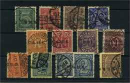 OBERSCHLESIEN 1920 Nr D8-20 Gestempelt (110204) - Deutschland
